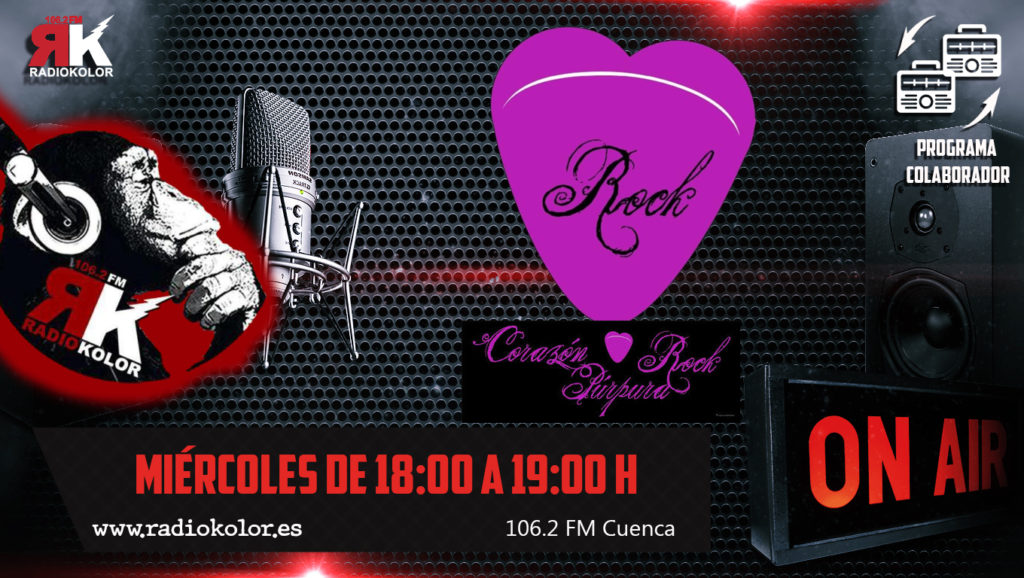 RK-CORAZON PURPURA ROCK