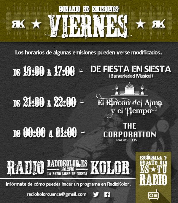 RK_Horario Emisiones 05 VIERNES 2016-2017 T2