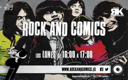 ROCK&COMICS-Emisiones 01 (2ºtrim)
